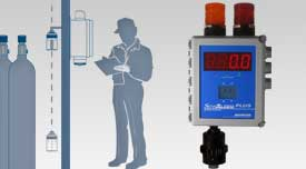 SensAlarm Plus Fixed Point Universal Gas Monitoring System