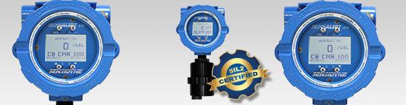 SIL 2 Certified Point Gas Detector for Toxic, Combustible, and Oxygen monitoring.