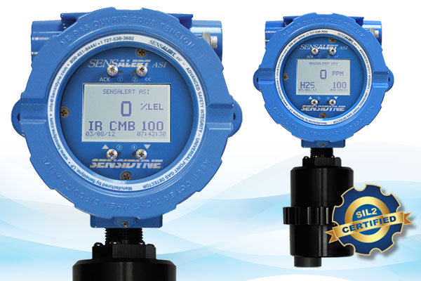 SensAlert ASI Point Gas Detector